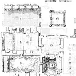 Hadrianic Baths - state plan